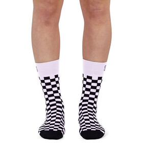 Sportful Checkmate Socks Women, white black